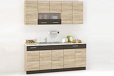 Шкаф кухонный 800, 2Д  как часть комплекта Грета, Сонома, MEBEL SERVICE (Украина), фото 2