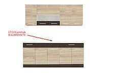 Шкаф кухонный 800, 2Д  как часть комплекта Грета, Сонома, MEBEL SERVICE (Украина), фото 3