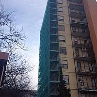 35гр/м2 3мх50м Фасадная Сетка для Строительных Лесов