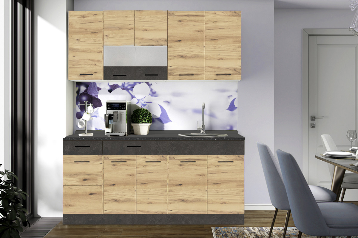 Комплект мебели для кухни Грета 1800, Грената, MEBEL SERVICE(Украина)