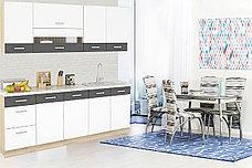 Комплект мебели для кухни Глобал 2000, Белый/Серый, MEBEL SERVICE(Украина), фото 2