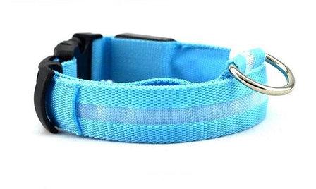Светодиодный ошейник для собак usb размер XL, фото 2