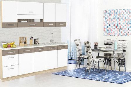 Шкаф-стол 400, 3Я как часть комплекта Глобал, Белый/Капучино, MEBEL SERVICE (Украина), фото 2