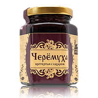 Черёмуха протертая с сахаром 220 г Сибирский Знахарь