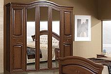 Зеркало в раме как часть комплекта Любава 5, Дуб Медовый, Форест Деко Групп (Беларусь), фото 2