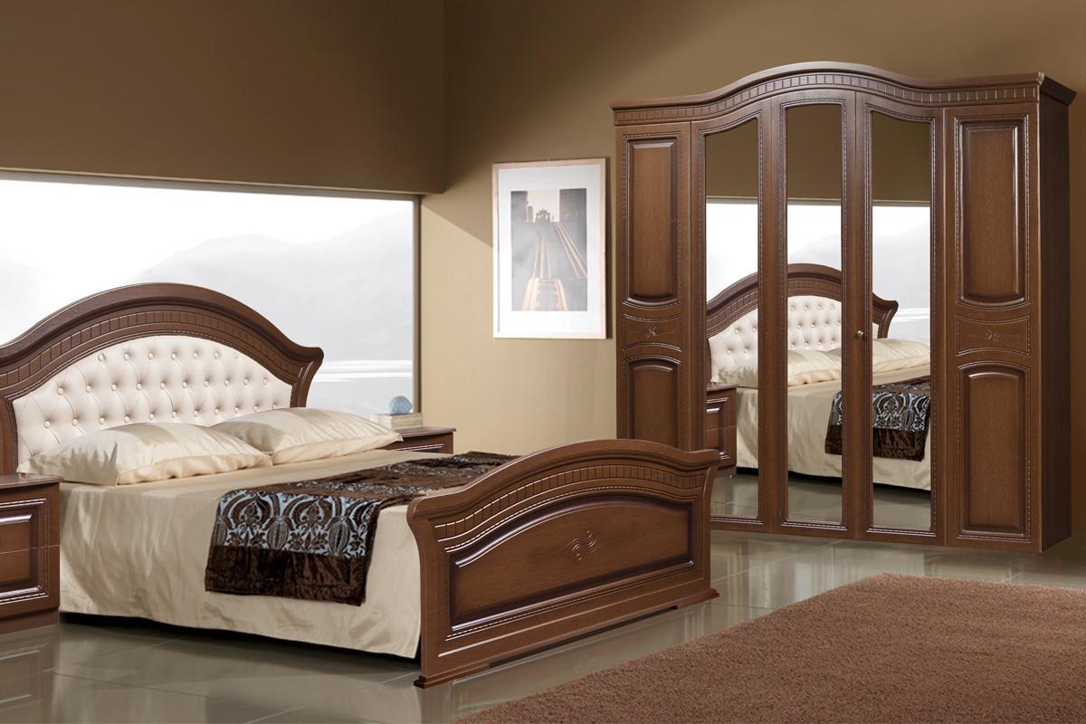 Комплект мебели для спальни Любава 5, Дуб Медовый, Форест Деко Групп(Беларусь)
