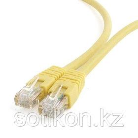 Патч-корд UTP Cablexpert PP6U-1M/Y  кат.6, 1м, литой, многожильный (жёлтый)