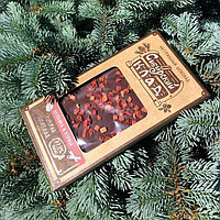 Шоколад горький Клубника и корица 100 г Сибирский Клад