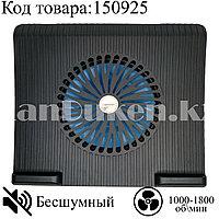 Охлаждающая подставка кулер для ноутбука 15,6 дюймов бесшумная с выключателем JM MAX PRO 20102