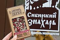Шоколад молочный Брусника и кедровый жмых 100 г Сибирский Клад