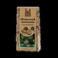 Кедровый грильяж с сосновой шишкой коробка 10 шт (~120 г)