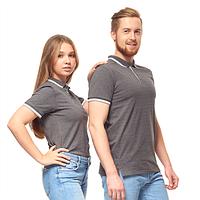 Однотонные рубашки поло унисекс под нанесением логотипа