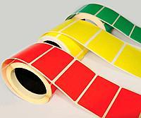 Красная и Желтая термоэтикетка 58х40