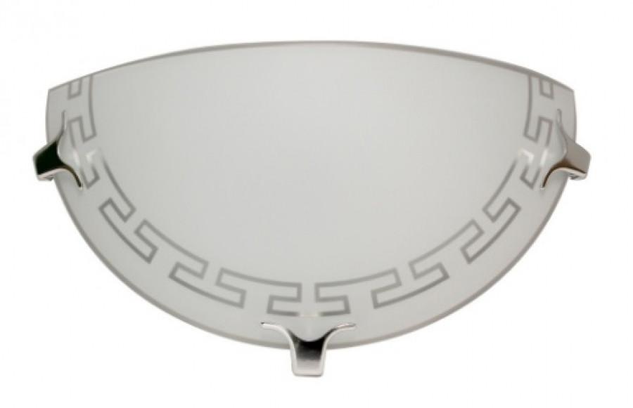 Светильник 300/2 Этруска НББ 21-60 М19 матовый белый/кл.штамп металлик ИУ