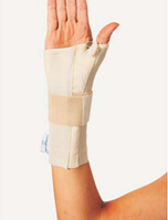 Шина для полной фиксации запястного сустава и большого пальца