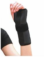 Шина неопреновая для фиксации запястного сустава (левая)