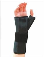Шина для фиксации запястного сустава и большого пальца