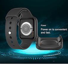 Часы умные IWO SMART WATCH поколение  T5 с датчиком пульса и артериального давления, фото 2