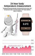 Часы умные IWO SMART WATCH поколение  T5 с датчиком пульса и артериального давления, фото 3