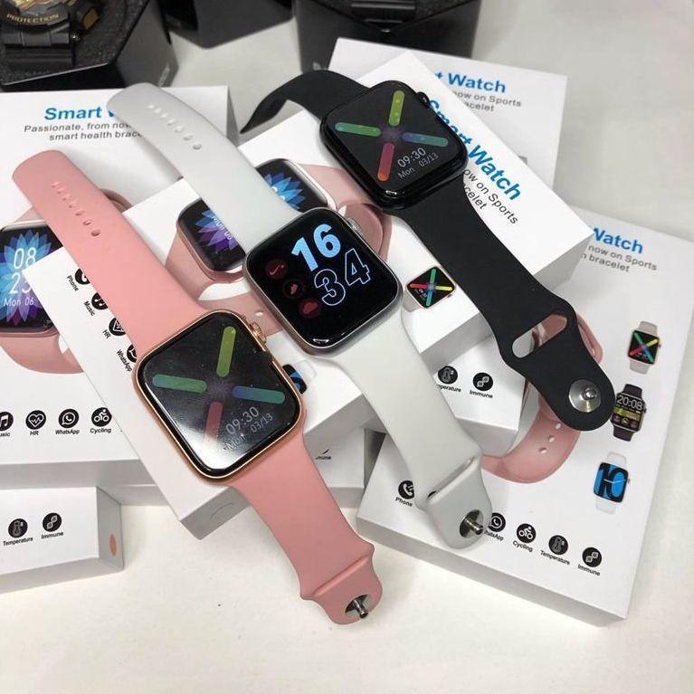 Часы умные IWO SMART WATCH поколение  T5 с датчиком пульса и артериального давления