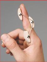 """Шина для пальца руки с деформацией """"Бутоньерка"""""""
