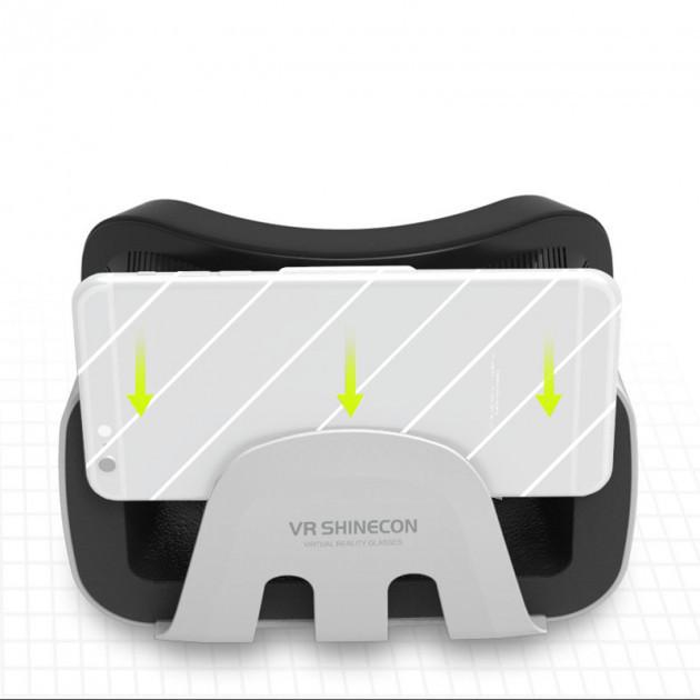 Очки-шлем виртуальной реальности VR SHINECON G3.0 3D