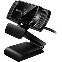 CANYON C5 1080P full HD 2.0Mega auto focus webcam with USB2.0 connector, 360 degree rotary view scope, built