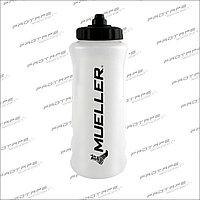 Бутылка для спортивных напитков со спортивной черной крышкой, Черный Логотип Mueller WATER BOTTLE W/ BLACK