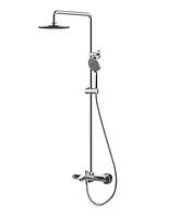 Душевая система для ванны и душа с термостатом BRAVAT F639114C-A2-RUS Waterfall