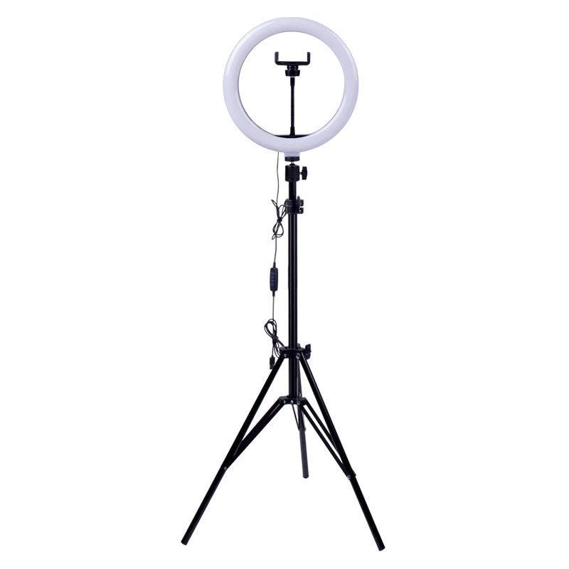 Кольцевая лампа «RING FILL LIGHT» со штативом для блогеров И BEAUTY-мастеров 26см