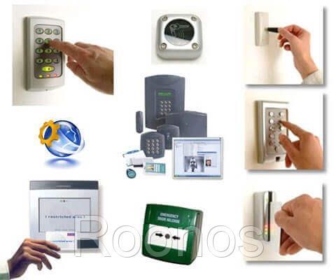 Монтаж систем контроля доступа