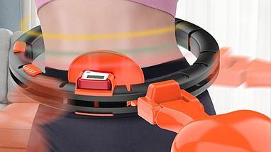 Обруч HULA HOOP 2020 с компьютером для спорта  и фитнеса, фото 3