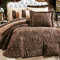 Комплект постельного с покрывалом