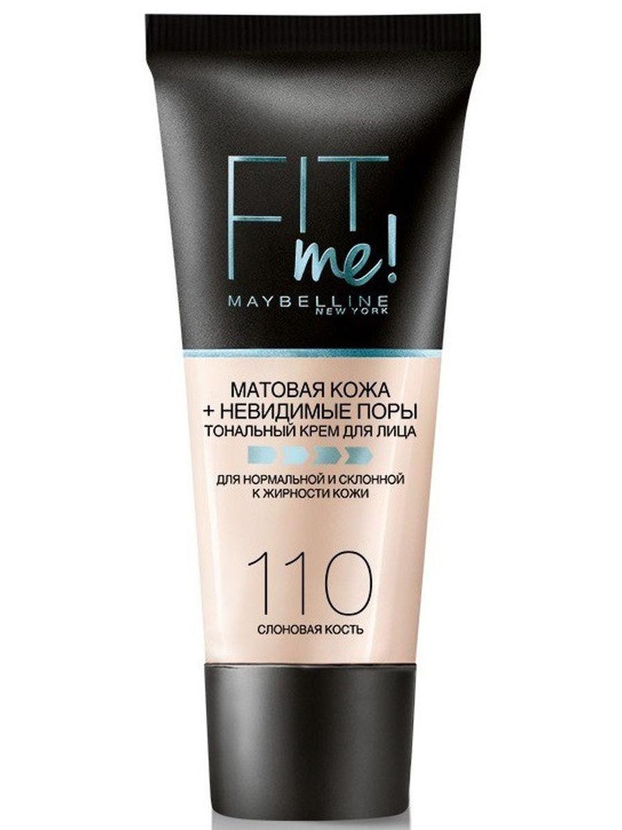 Крем Мэйбеллин (Maybelline) Fit Me 110, Слоновая Кость