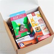 Подарочный набор «Антистресс»: шоколад 27 г, чай чёрный 25 п, значок, фото 2