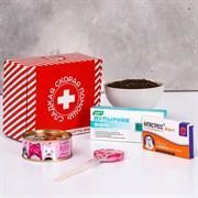 Подарочный набор «Сладкая скорая помощь»: леденец 15 г, конфеты 65 г, чай 20 г, шоколад 27 г, фото 2
