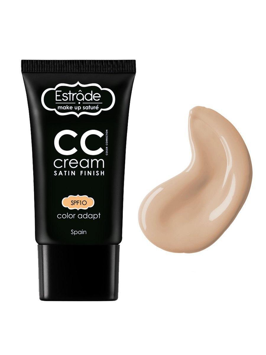 Estrade / Тональный крем СС cream satin finish, тон 11 фарфоровый Цвет: светло-бежевый