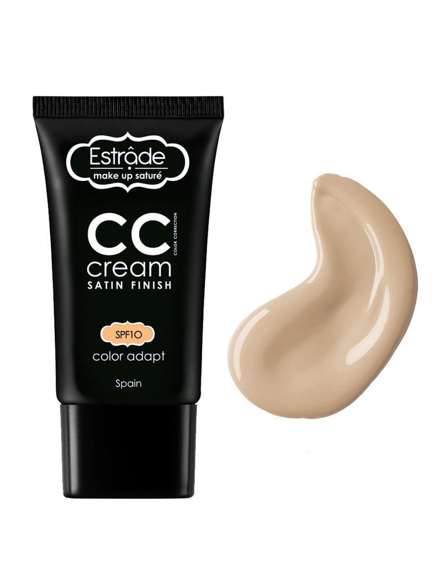Estrade / Тональный крем СС cream satin finish, тон 12 майолика Цвет: светло-бежевый