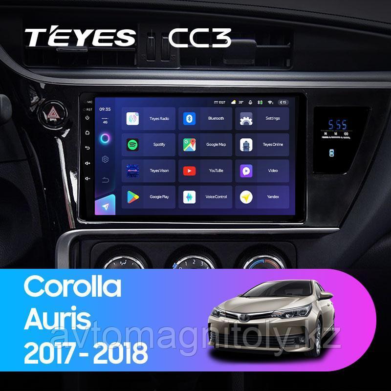 Автомагнитола Teyes CC3 3GB/32GB для Toyota Corolla 2017-2018