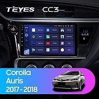 Автомагнитола Teyes CC3 3GB/32GB для Toyota Corolla 2017-2018, фото 1