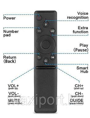 Пульт Samsung SMART TV с 2018г с голосовым управлением RM-G 1800, фото 2