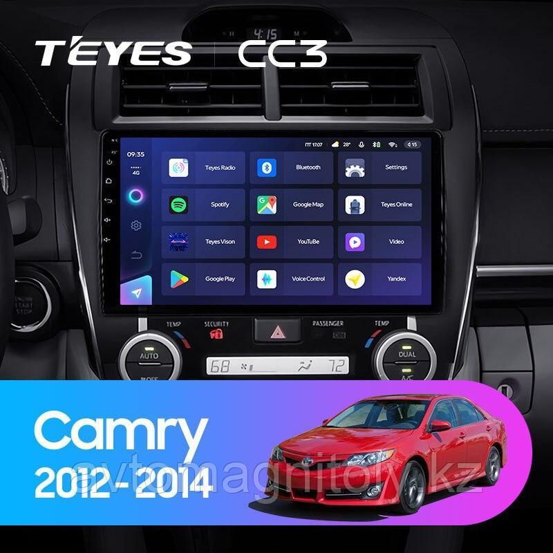 Автомагнитола Teyes CC3 4GB/64GB для Toyota Camry 50 USA