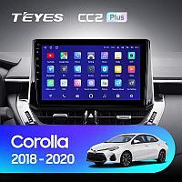 Автомагнитола Teyes CC3 4GB/64GB для Toyota Corolla 2018-2020