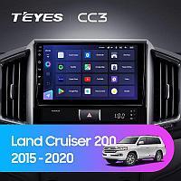 Автомагнитола Teyes CC3 4GB/64GB для Toyota Land Cruiser 200 2015-2020
