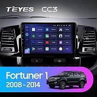 Автомагнитола Teyes CC3 4GB/64GB для Toyota Fortuner 2008-2014
