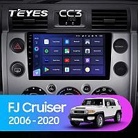Автомагнитола Teyes CC3 4GB/64GB для Toyota FJ Cruiser 2006-2020