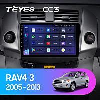 Автомагнитола Teyes CC3 4GB/64GB для Toyota RAV4 2005-2013