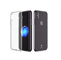 Чехол для iPhone XS Max, тонкий прозрачный TPU