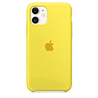 Чехол Silicone Case для iPhone 11 (Yellow)
