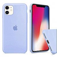 Чехол Silicone Case для iPhone 11 (Blue)